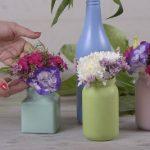 آموزش درست کردن گلدان گل شیشه ای