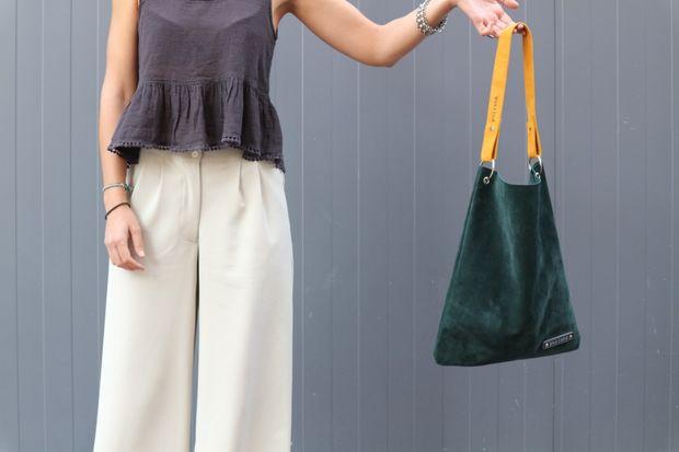 دوختن کیف دوشی جیر