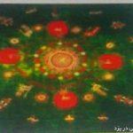 آشنایی با هنر دندانی بافی یا گل خورد در استان یزد