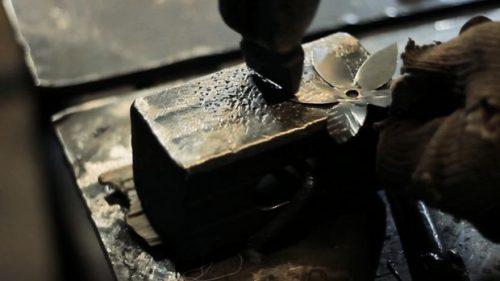درست کردن گل فلزی