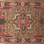 آشنایی با فرش سنقر از مجموعه فرش های کردی