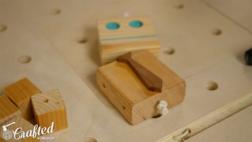 درست کردن آدمک چوبی