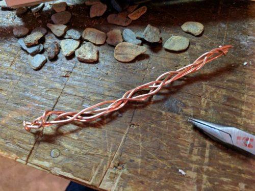 درست کردن دستبند مسی