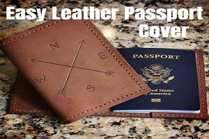 آموزش درست کردن کاور پاسپورت چرمی