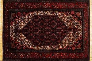 آشنایی با فرش آهنی هنر دستان مردم سنقری