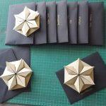 آموزش درست کردن کارت پستال سه بعدی به شکل ستاره