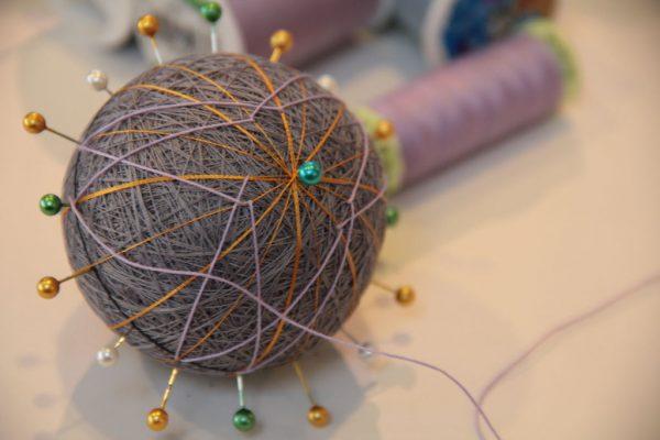 درست کردن توپ کاموایی