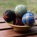 درست کردن توپ کاموایی رنگارنگ از صنایع دستی ژاپن