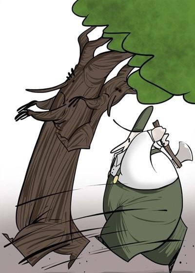 کاریکاتورهای جالب ، محیط زیست