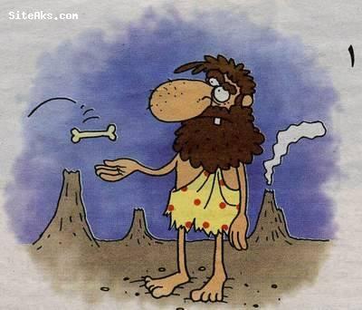 کاریکاتورهای خنده دار از سیرتکامل گدا