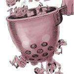کاریکاتور استودیوی عجیب مناظرات انتخاباتی