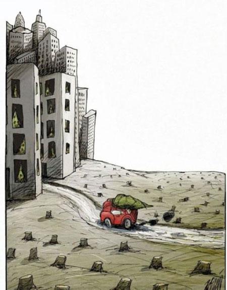 کاریکاتورهای زیبا و طنزآمیز از آنجل بولیگان