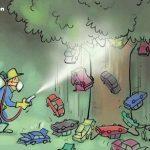 کاریکاتورهای جالب ، روز درختکاری