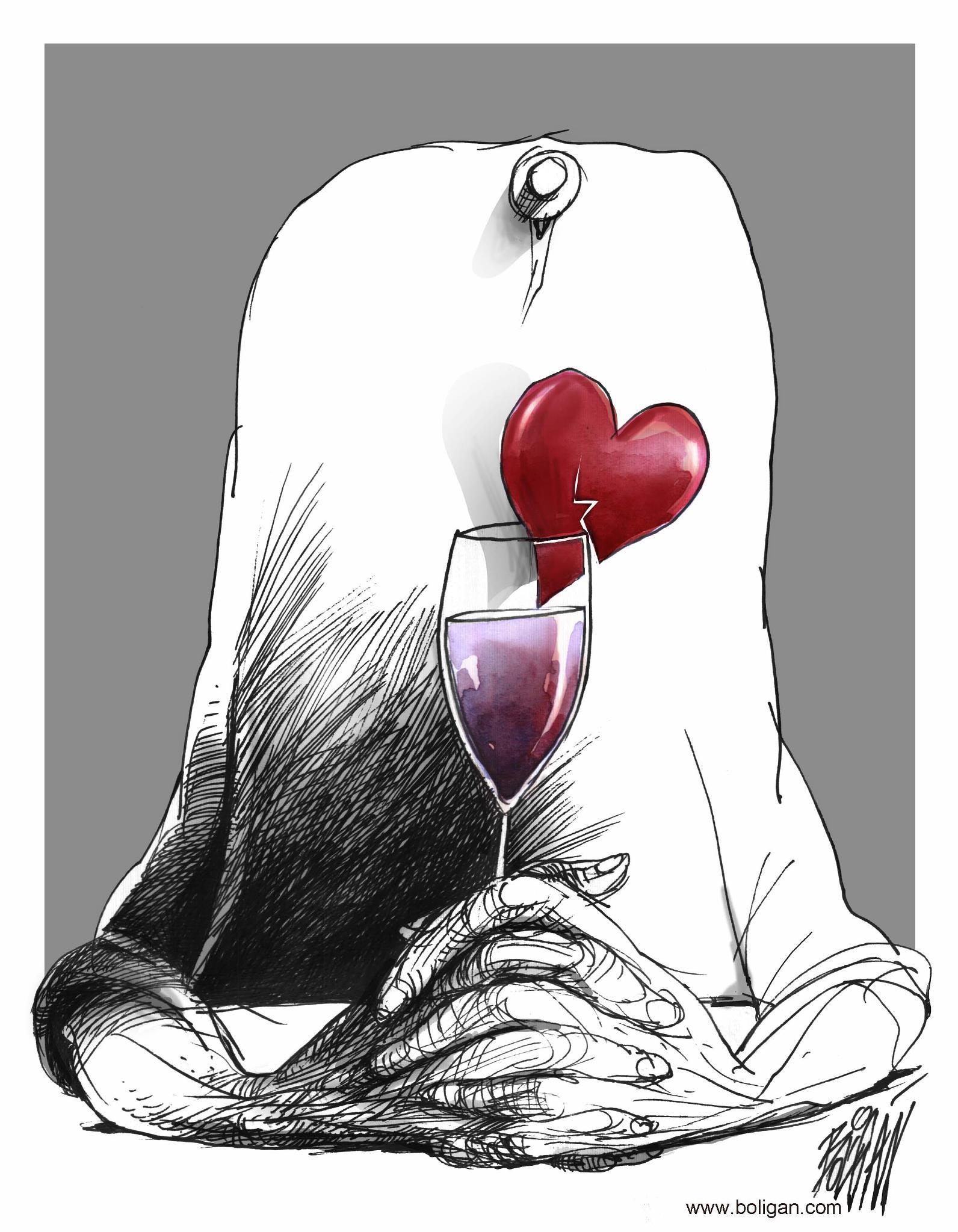 کاریکاتورهای زیبا و طنز آمیز از آنجل بولیگان (2)