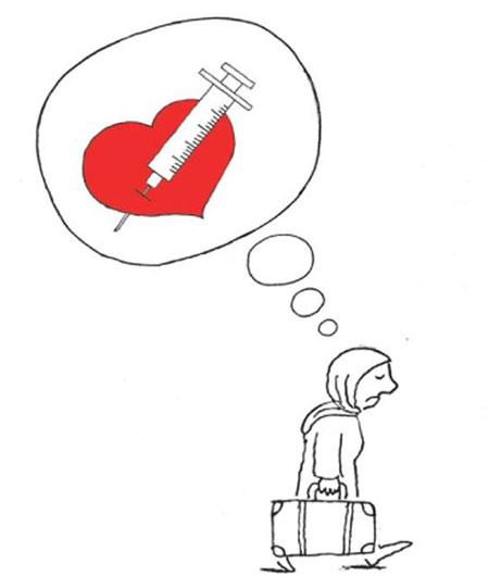 کاریکاتور های جالب و دیدنی از طلاق