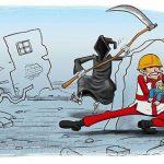 کاریکاتور زلزله این بلای طبیعی برای شما