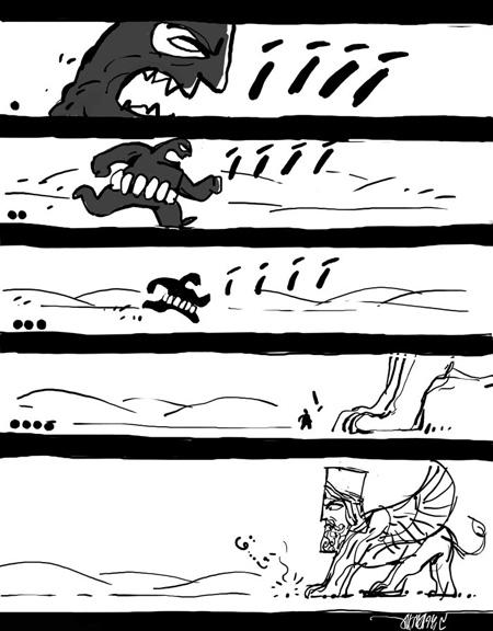 کاریکاتورهای تاثیر گذار