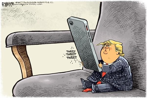 رئیس جمهور توئیترباز