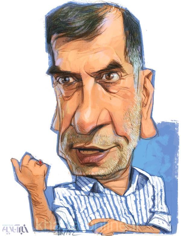کاریکاتور آقای روحانی روی من حساب نکن