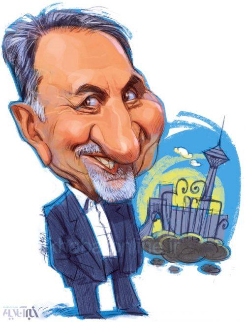 کاریکاتور اینم شهردار جدید تهران!