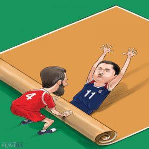 کاریکاتور کاری که با آمریکا کردیم و برزیل با ما کرد!