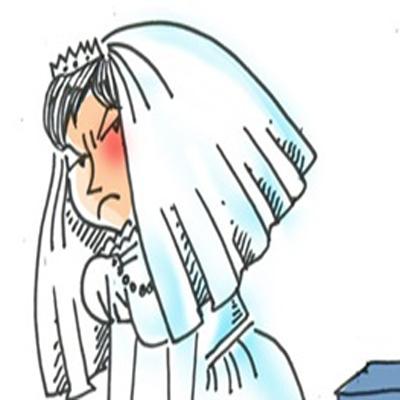 کاریکاتور طلاق