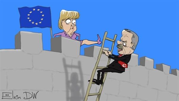 مرکل کار اردوغان را یکسره کرد