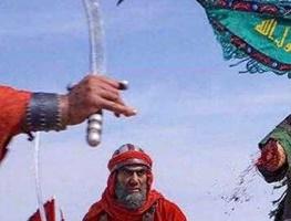 کاریکاتور حماسه علمدار کربلا در یک قاب!