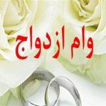 کاریکاتور عروس و دامادها در انتظار وام ازدواج