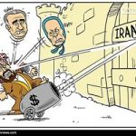 کاریکاتور تفالههای پهلوی و منافقان جیرهخوار آلسعود