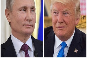 کاریکاتور تبریک سگی دونالد ترامپ به پوتین!