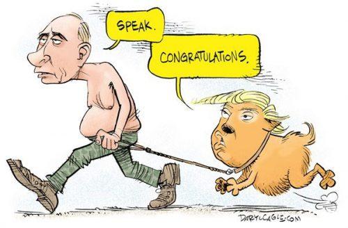 کاریکاتور پوتین