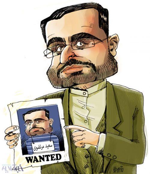 کاریکاتور سعید مرتضوی