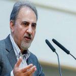 کاریکاتور مسائل پشتپرده استعفای نجفی شهردار تهران!