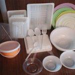 استفاده از ظروف یک بار مصرف