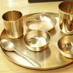 تمیزکننده ظروف و وسایل برنزی