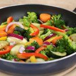 یک نکته و سبزیجات پخته