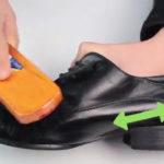 برای پاک کردن آثار چربی از روی کفش