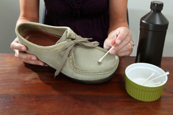 تمیزی کفش