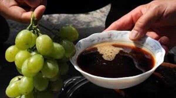 ۲ نکته مهم از شیره انگور