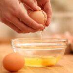 استفاده از سفیده تخم مرغ به جای چسب