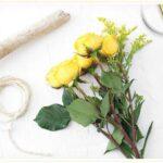 خشک کردن گل طبیعی (با حفظ شکل اولیه)