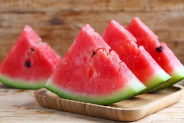 نگهداری هندوانه در یخچال