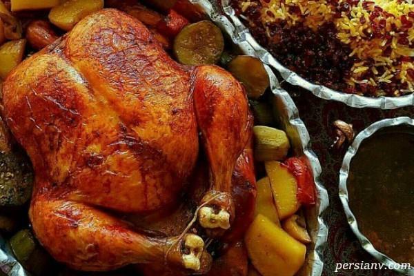 مرغ بریان