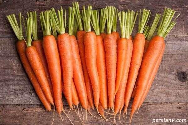 نگهداری هویج در یخچال