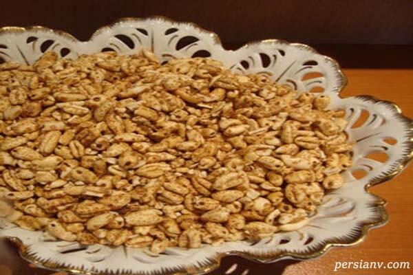 طرز تهیه گندم شیرین ( با نام تجاری گندمگ )