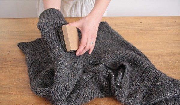 از بین بردن پرز های روی لباس