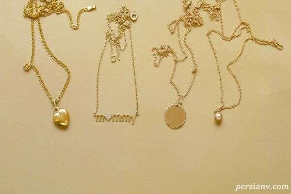 گره خوردن زنجیر طلا