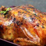 درست کردن مرغ سالم در جوجه گردان فر