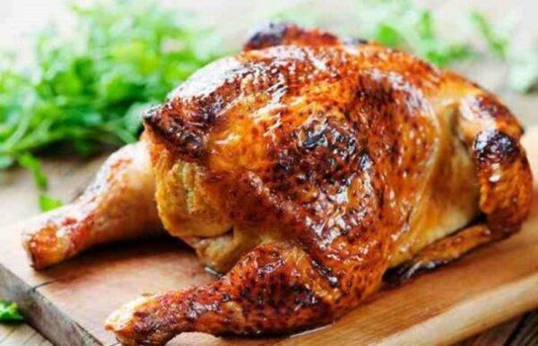 طریقه درست کردن مرغ سالم در فر